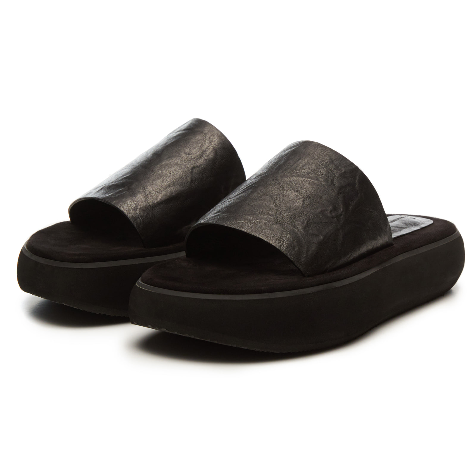 BOAT SLIDES [BLACK]
